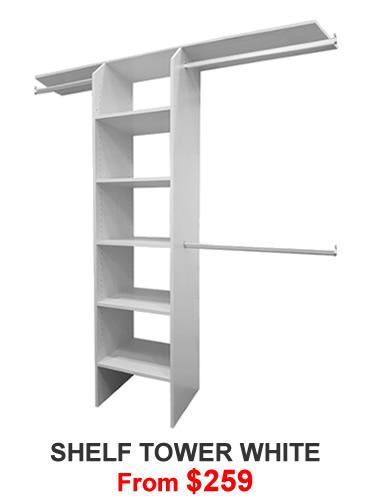Shelf Tower White