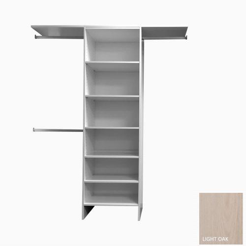Chester-Series-Shelf-Tower Light Oak